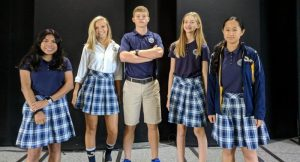 Freshmen class officers at Madison Academy